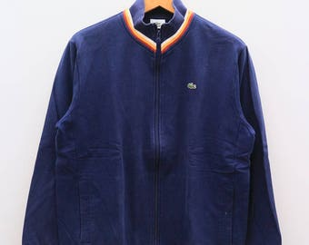 Vintage LACOSTE Small Logo Blue Pullover Sweater Sweatshirt