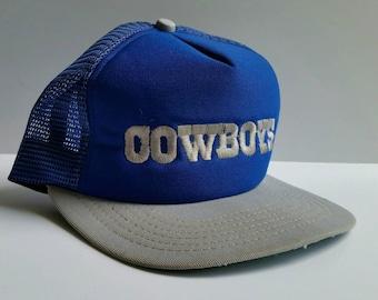 Vintage New Era Dallas Cowboys snapback trucker hat
