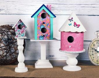 Candlestick Birdhouses