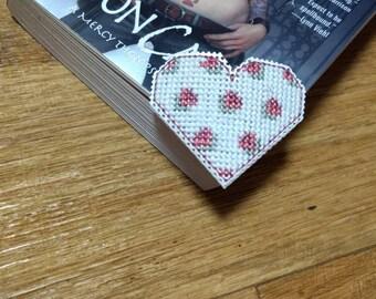 corner heart bookmark