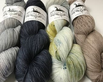 Harry Potter Inspired Yarn - 4 set