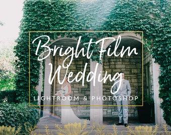 Bright Film Wedding Lightroom Preset & Photoshop Preset for Photographers
