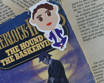 Spencer Reid Magnetic Bookmark | Criminal Minds Bookmark