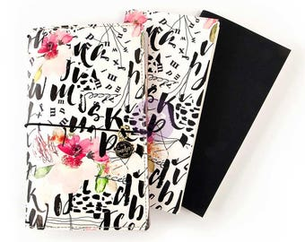 My Prima Travelers Notebook Journal - Jet Setter
