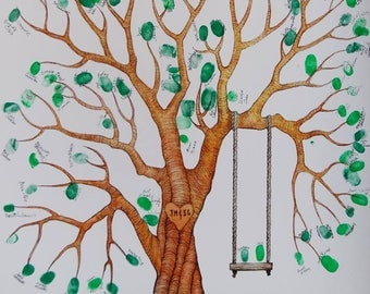 Custom Wedding Tree