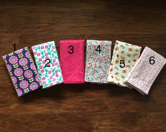 SELECT YOUR OWN Set of burp cloths, Diaper style burp cloth, burp cloth, Flannel burp cloth, Girl burp cloth, Baby , Baby Branch Boutique