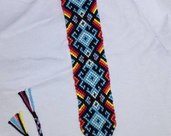 Free shipping bracelet, Knotted bracelet, Braided bracelet, Summer bracelet,Wrist band, Handwoven bracelet, String bracelet, Boho style