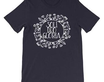 Ladies Soli Deo Gloria Reformed Christian T-shirt