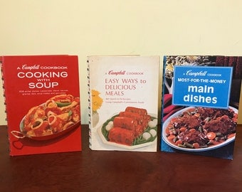 Three Campbell Soup Company Cookbooks