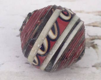20mm Paper Bead , Uganda Paper Bead , Focal Paper Bead , Ethnic Beads , 20mm