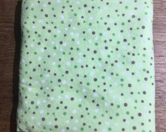 Mint Chocolate Chip Standard Flannel Pillow Cases (1)