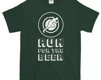 Short-Sleeve Run For The Beer T-Shirt