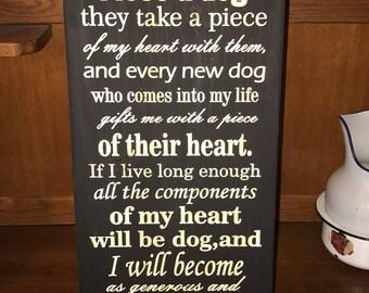 Having a dog heart