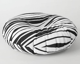 Striped Floor pillow, floor seating, floor cushion, large floor pillow, 26x26, 30x30, 26x26 floor cushion, cushion, pet pillow, pet cushion