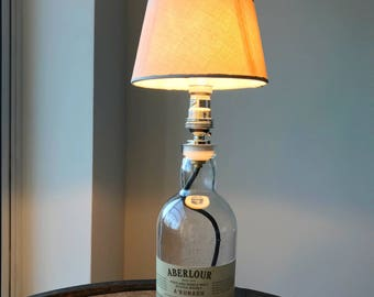 Aberlour A'Bunadh Bottle Lamp