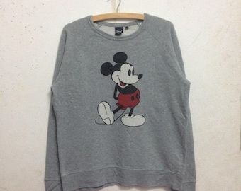 Vintage 90's Disney Mickey Mouse Sweatshirts Size L