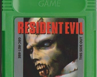 Gameboy Game boy Color GBC Resident Evil Customized