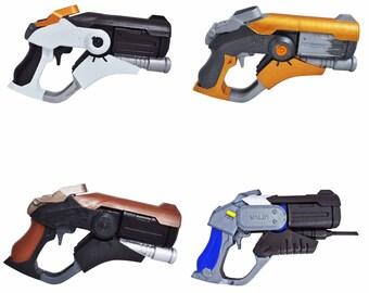 All skins Mercy Caduceus Blaster prop from Overwatch. Prop / Replica / cosplay