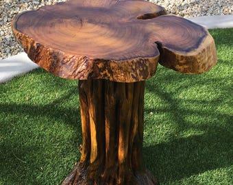 Saguaro & Mesquite Accent Table