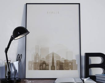 Naples Art Naples Watercolor Naples Print Naples Poster Naples Photo Naples Wall Art Naples Wall Decor Naples Home Decor Naples Skyline