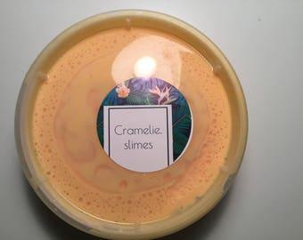 Peaches & cream slime