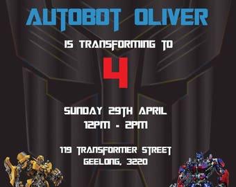 Transformer Invitation