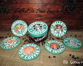 Starbuck's Coffee coasters