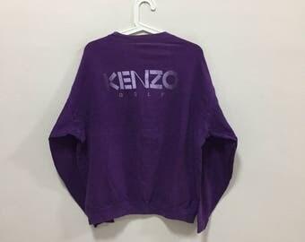 20% off Vintage!!! KENZO SWEATSHIRT, big logo, vintage, vintage item, rare.
