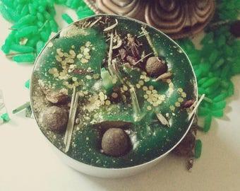 Big Money tea light candles- hoodoo, Conjure, Witchcraft, money luck