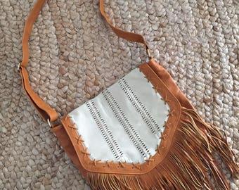 Bohemian Leather Handbag