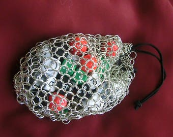 Chain Mail Dice Bag