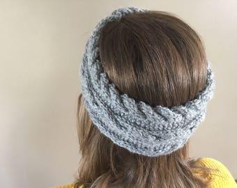Handmade Cable Knit Headband