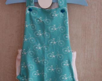 rompers baby summer unisex bikes