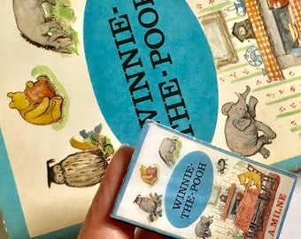 Miniature Book Brooch 'Winnie The Pooh)