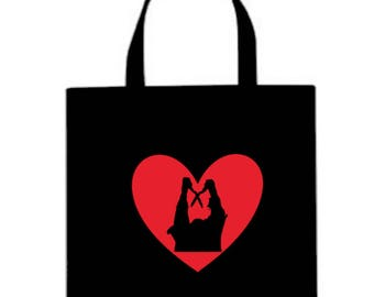 Burning Cropsy Slasher Valentine's Day Horror Canvas Tote Bag Market Pouch Grocery Reusable Halloween Merch Massacre Black Friday Christmas