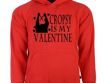 Burning Cropsy Unisex Hoodie Pullover Hooded Sweatshirt Many Sizes Colors Custom Horror Halloween Merch Massacre