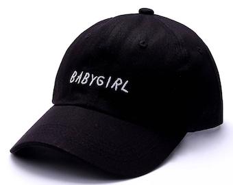Baby Girl Dat Hat Custom Baseball Hat