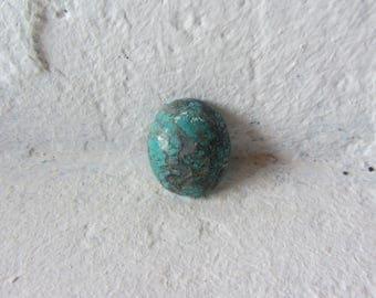 Tibetan Turquoise Cabochon. S0491