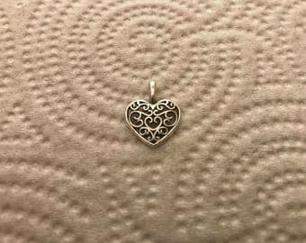 Heart Charms | Bracelet Charms | Jewelry Charms | Necklace Charms | Earring Charms | DIY Charms |