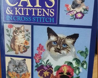 Cats & Kittens in Cross stitch