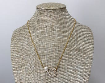 Gold Clasp Necklace