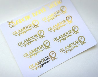 Glamour Session - FOILED Sampler Event Icons Planner Stickers