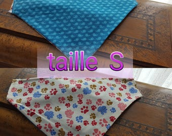 Bandanas pour chiens / dogs scarf     taille S  size M