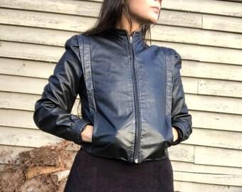 Leather Rocker Jacket