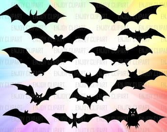 Bat Svg, Halloween Svg, Halloween Decal, Halloween Clipart, Batman Svg, Batman Clipart, Cuttable Files, Svg File For Cricut, Svg Downloads