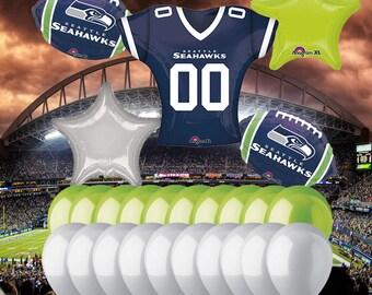 Seattle Seahawks 25 Piece Balloon Set