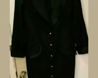 Lori Weidner Black Suit Dress Size 10