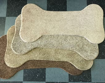Carpet Bone Rug for Dogs or Personal Use