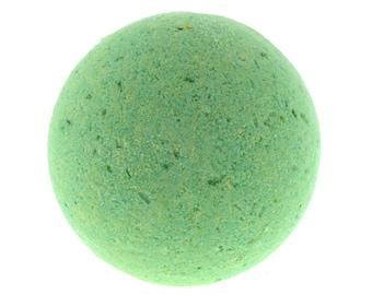Coconut Lime large bath bomb