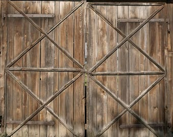 Barn Doors Backdrop